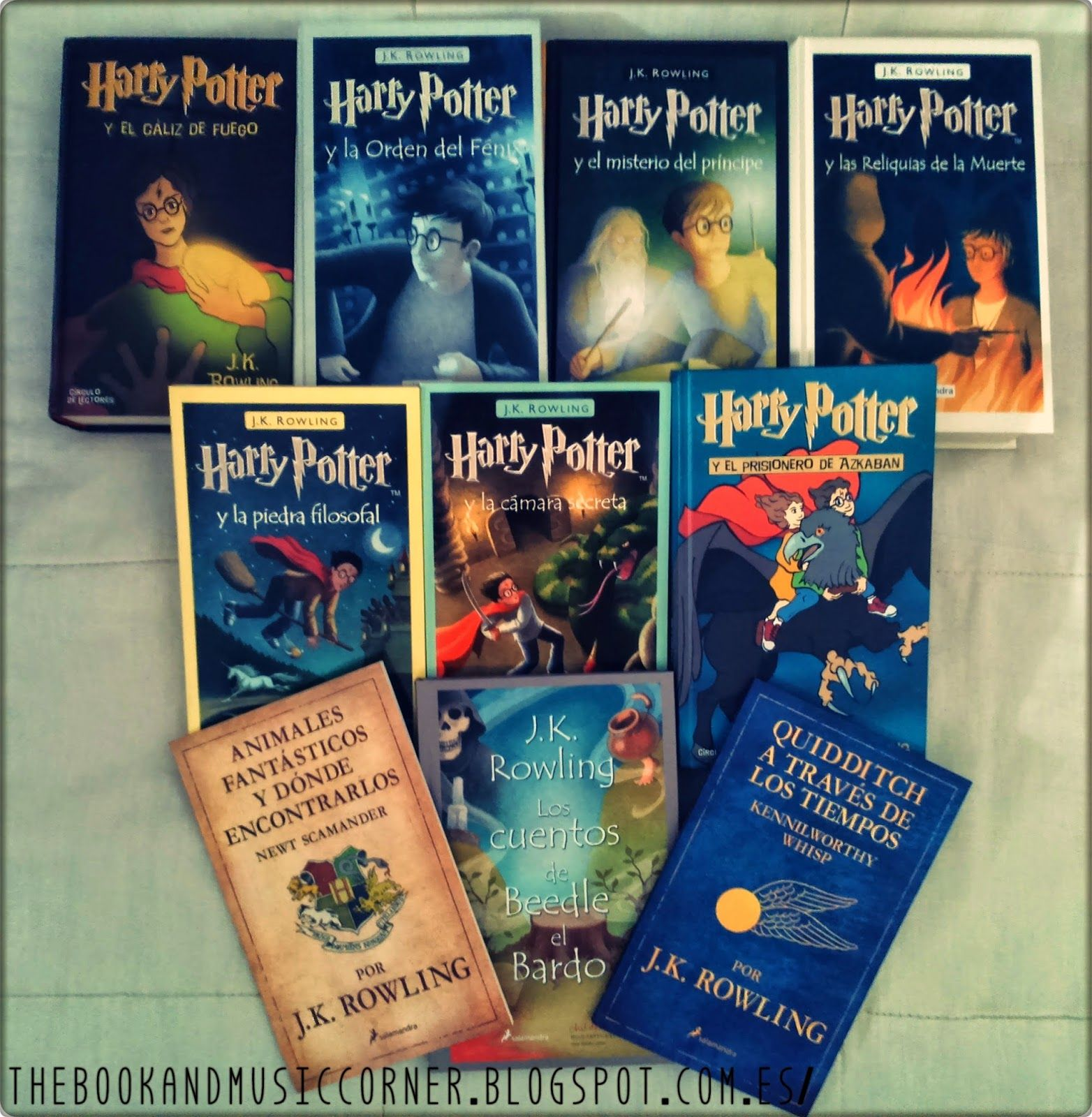 Pack Todos Los Libros De Harry Potter Libros De Harry Potter Buscar Con Google Harry Potter