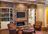 Interior Fancy Stone Fireplace Designs Creativefan Family ...