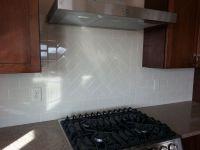 Gerard Homes -Traditional 3x6 subway tile backsplash with ...