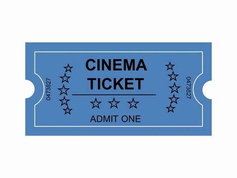Movie Ticket Clip Art Cinema Tickets Clip Art PowerPoint - movie ticket template