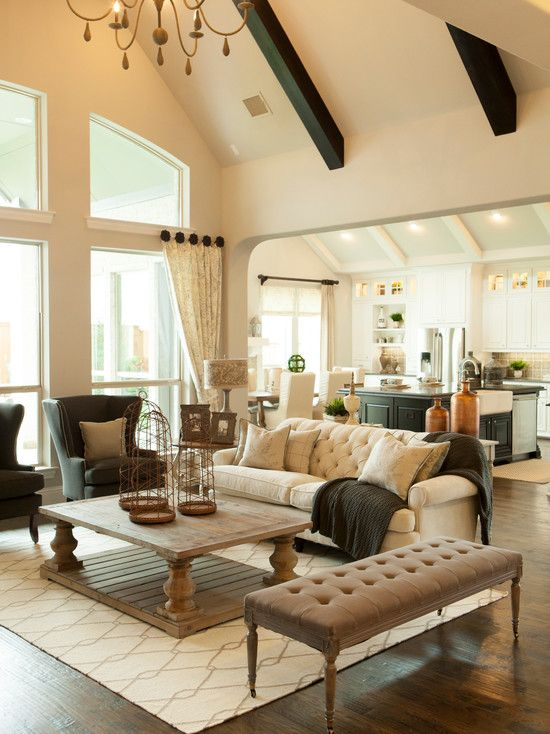 Living Design Ideas, Pictures, Remodel and Decor #Home Decor - houzz living room furniture
