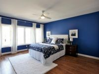 Blue Bedroom Paint Color Ideas | Modern bedroom wallpaper ...