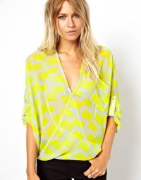 Rotating Bow Tie Watch at ASOS | Wrap blouse, Bright ...