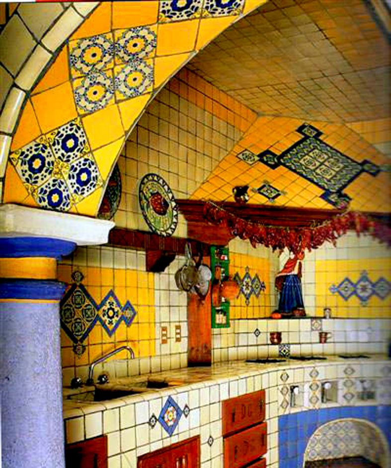 Mexican Style Kitchens and Photos The Small Kitchen Design and - mexican kitchen design