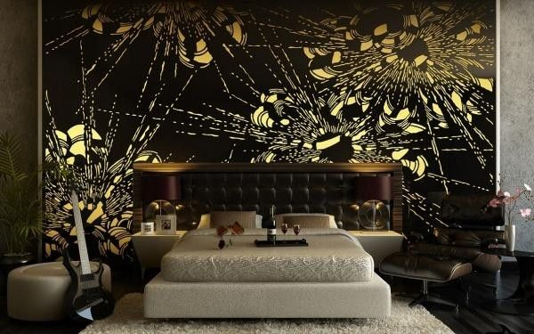 39 Awesome modern bedroom design black images Room Ideas - black and gold bedroom decorating ideas