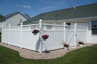 White Privacy Fence Ideas And Privacy Screen White Privacy ...