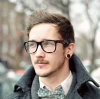 Black Fake Plug Earring | Lookbook | Pinterest | Urban male