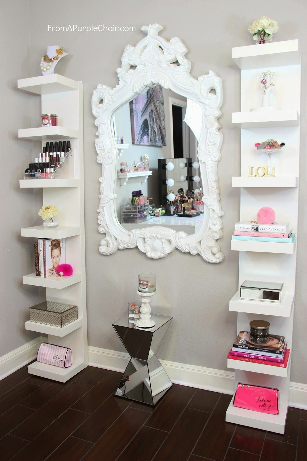 Salon Vintage Ikea Miss Liz Heart Beauty Room Decor How I Style My Ikea