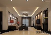 decorative ceiling ideas | Double high ceiling living room ...