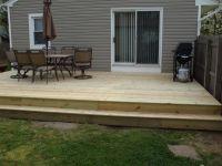Modern elegant backyard deck ideas ground level ,there are ...