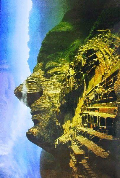 Central Park Fall Wallpaper Cara Inca Efecto Visual En Machu Picchu Dream I