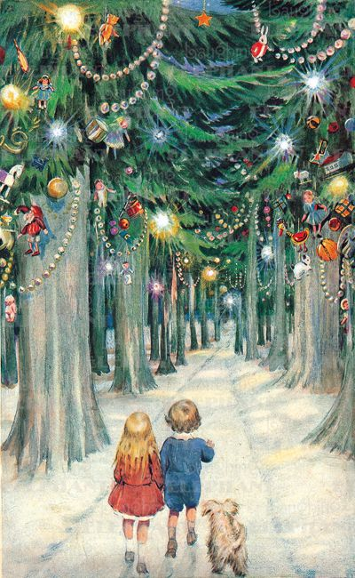 Pinterest Christmas Vintage Vintage Christmas Scene - For More> Https://www.pinterest