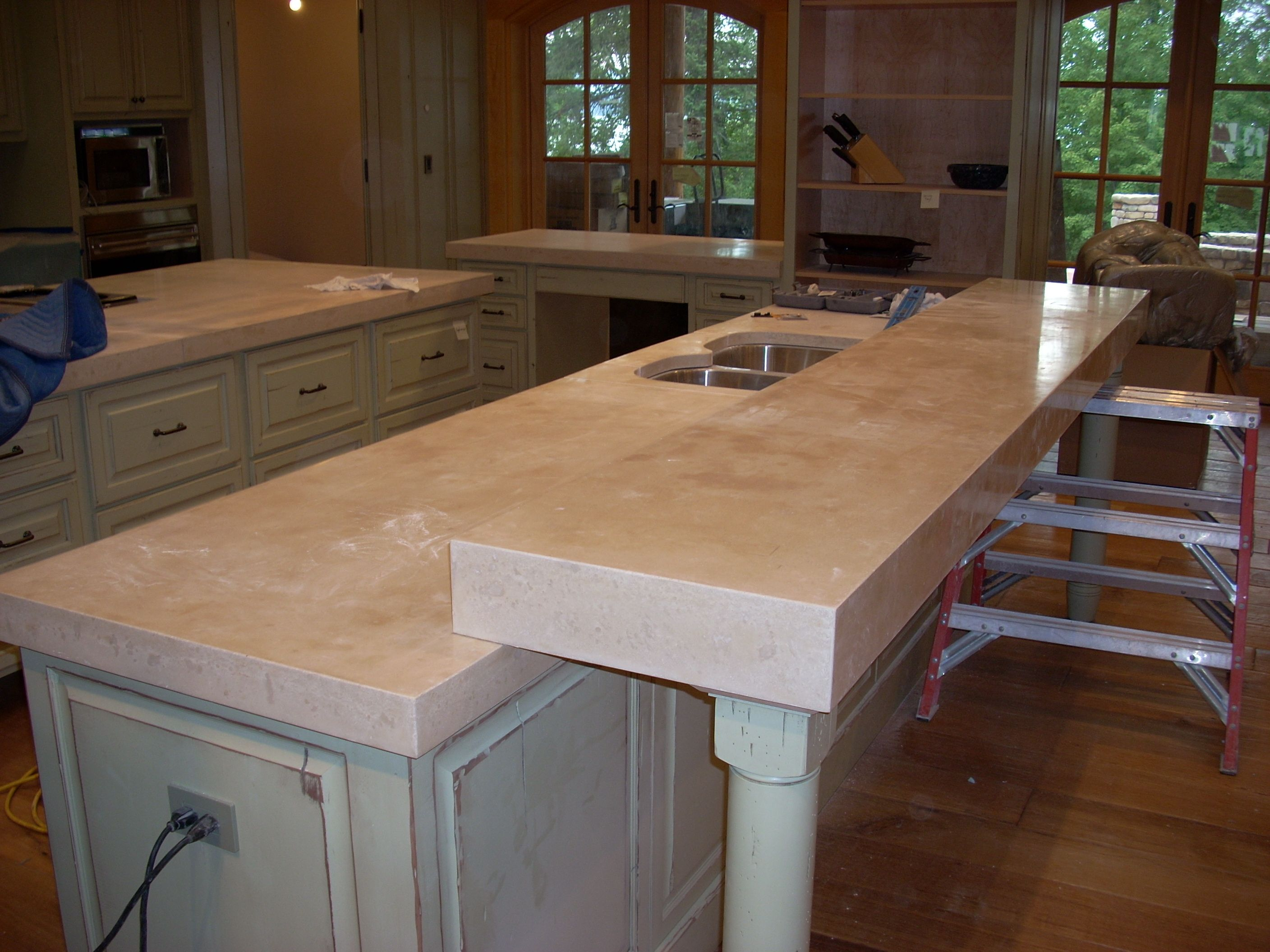 Kitchen Countertops Design Pinterest Concrete Countertops Kitchen Or Outdoor Concrete