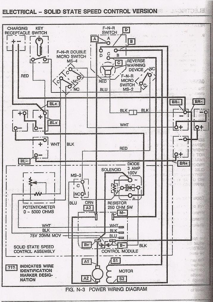 ez go 36 volt wiring diagram s2