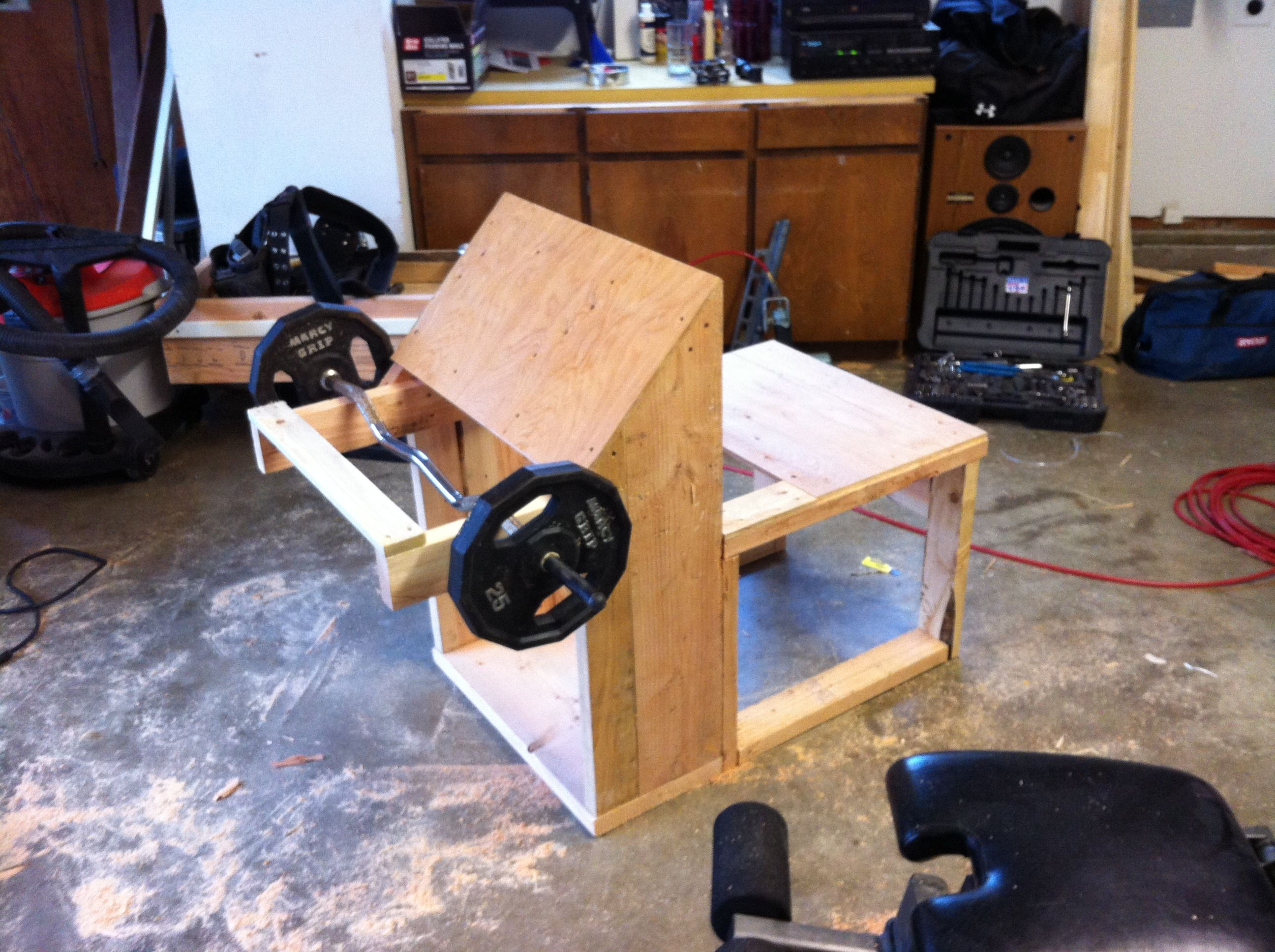 Diy Garage Gym Equipment My Home Built Gym Equipment My House Pinterest Gym