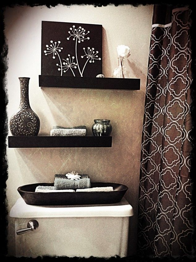 Look below the practical and decorative bathroom ideas and make - decorative towels for bathroom ideas