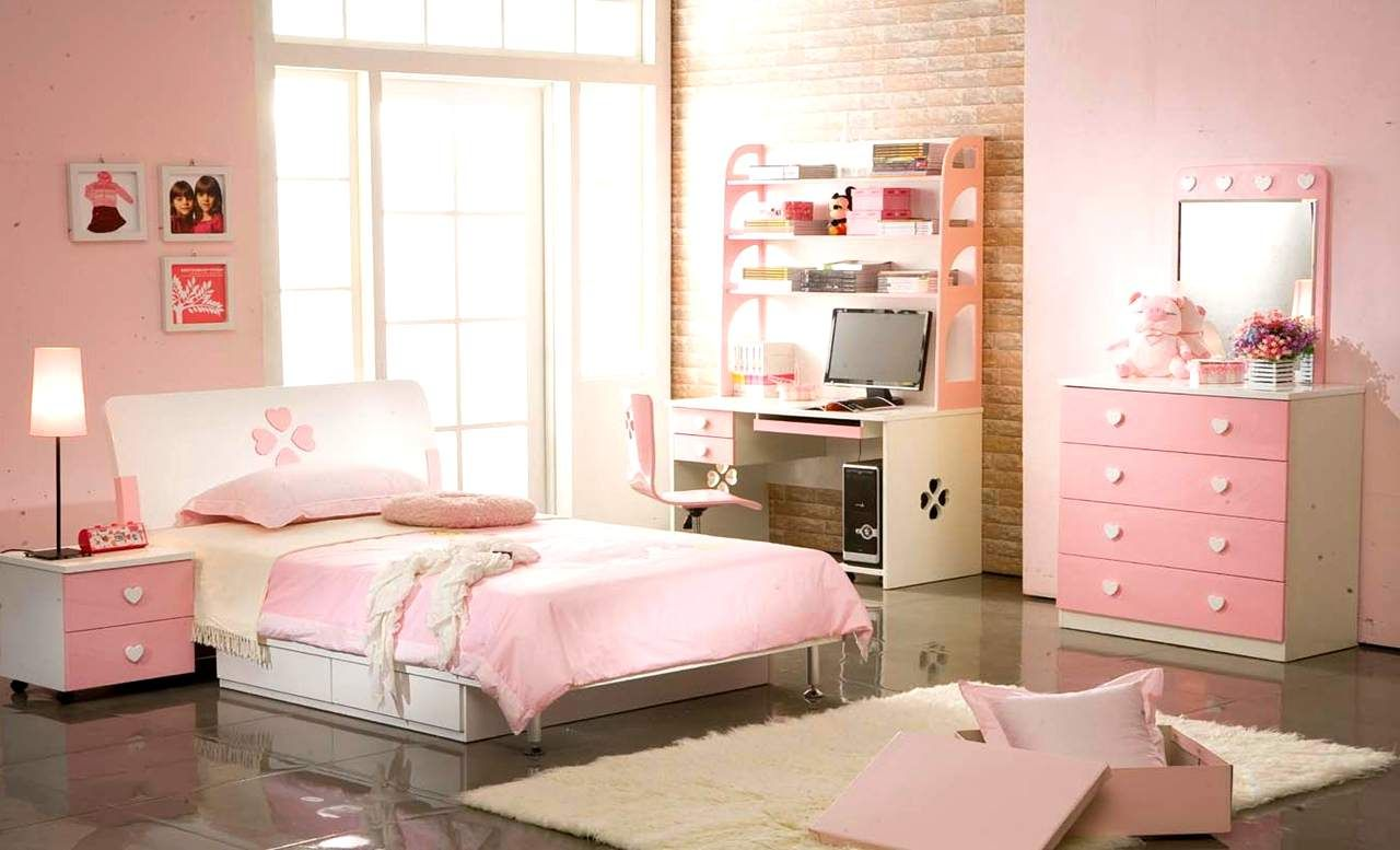 Pretty Girls Bedrooms Cute Teenage Girl Room Ideas Pink There Are Numerous