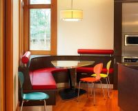 L Shaped Red Kitchen Tables With Bench Seating : Best ...