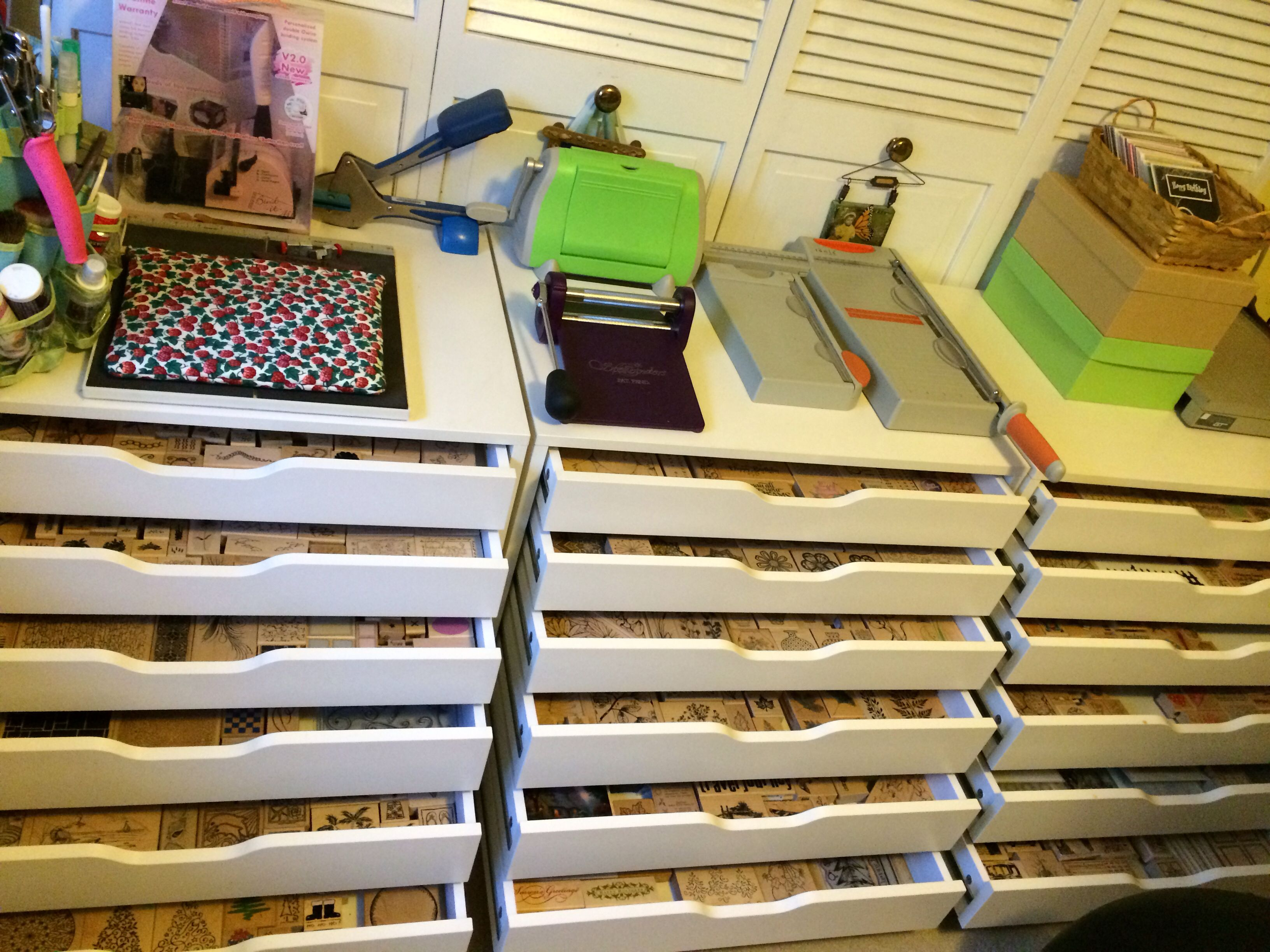 Rubber stamp storage ikea really awesome idea but i would need alot of these to