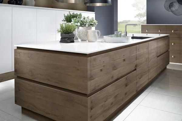 Ce modèle de cuisine moderne en bois est un chef du0027oeuvre de la - moderne schroder kuchen