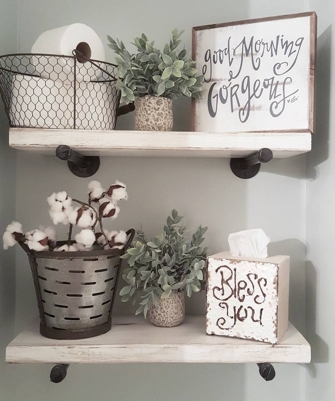 Bath Decorating Ideas Accessories See This Instagram Photo By Blessed Ranch 1 396 Likes