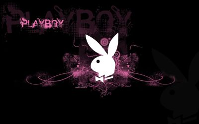 wallpaper for computer | Playboy Logo Pink Wallpaper | Customity | Places to Visit | Pinterest ...