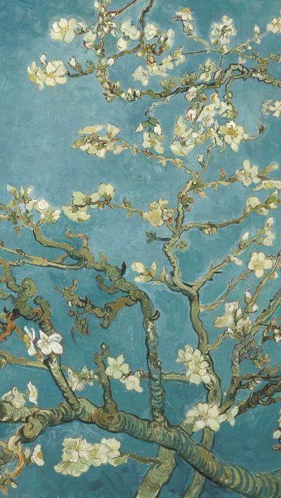 Van Gogh's painting in iPhone wallpaper | It's Van Gogh | Pinterest | Post impressionism, Art ...
