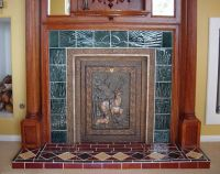 Victorian Style Fireplace Tiles | Tile Design Ideas