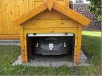 Mhroboter-Rolltor-Garage-Eigenbau-2   Garten   Pinterest ...