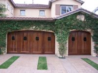 Spanish style garage door Custom made by Crown Garage Door ...