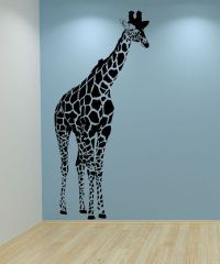 """Giraffe Wall Decal 