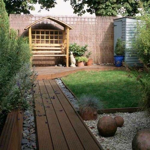 17 Tipps für Holz Boden Belag im Garten oder auf der Terrasse - gartengestaltung tipps