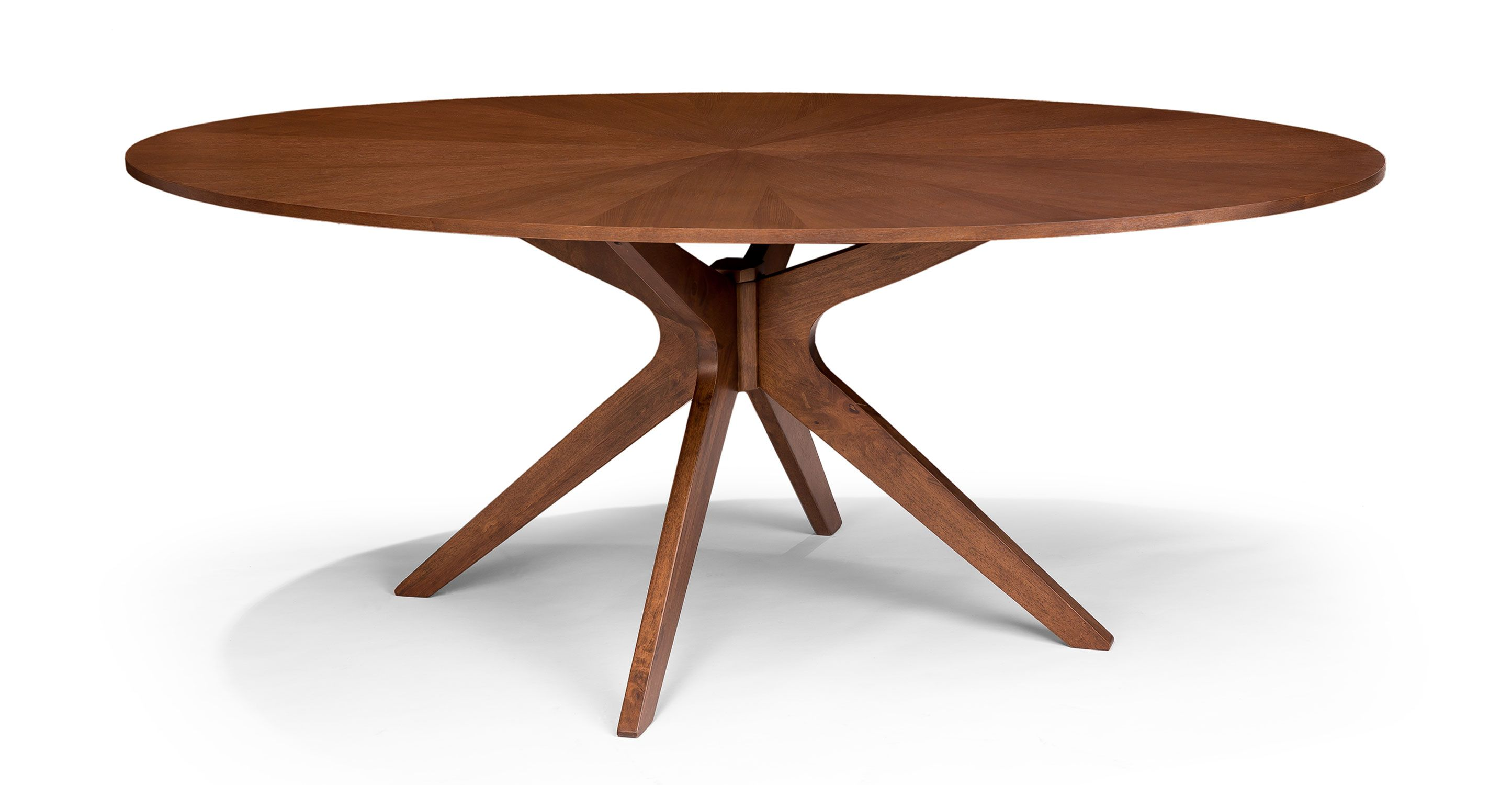 Table Ovale Design Conan Oval Dining Table Wood Tables Bryght Modern