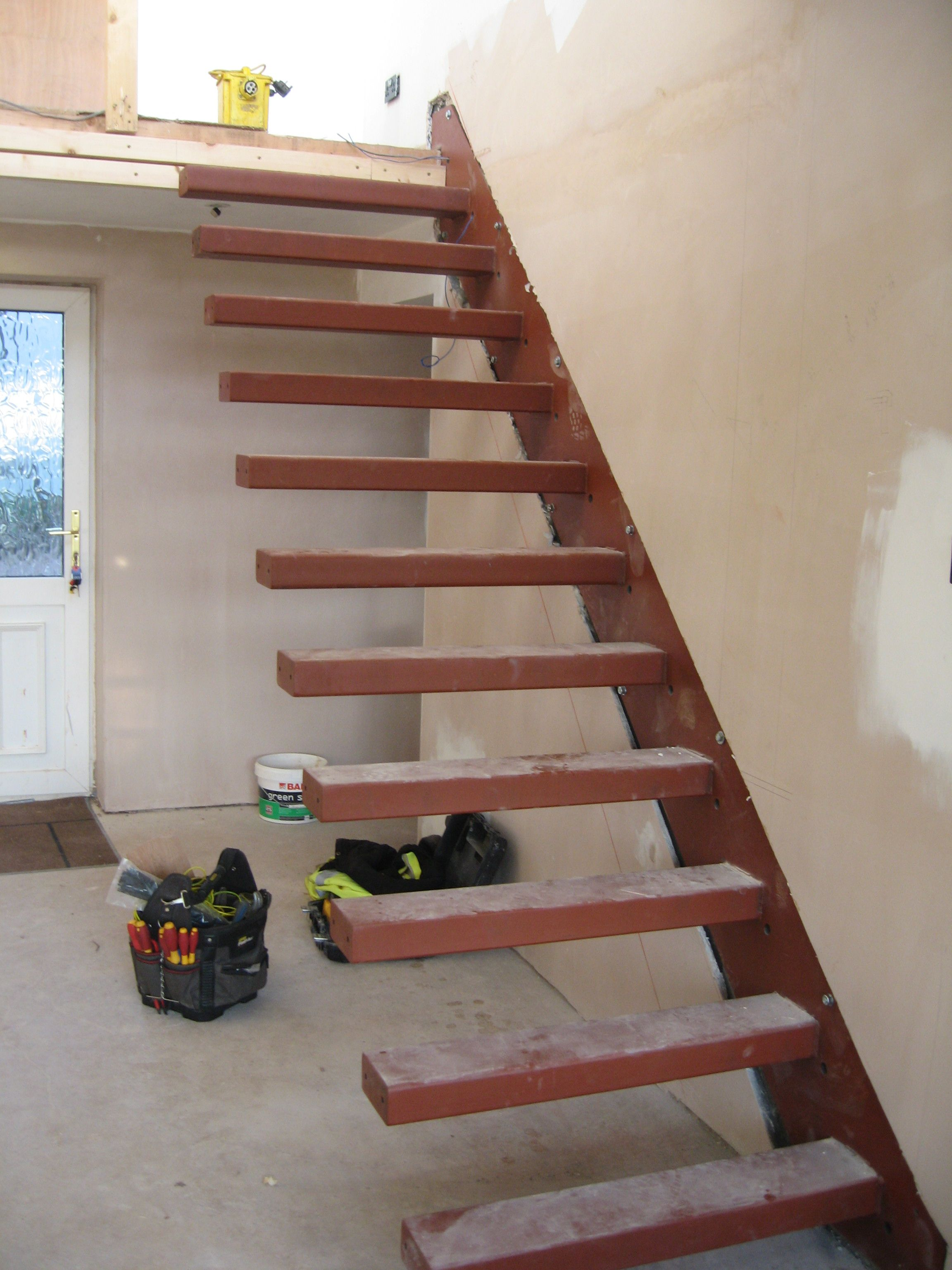 How To Build Floating Stairs Southern Fabrications Staircases Poole Dorset