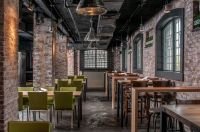 Gorgeous Exposed Brick Restaurant Interior | Architecture ...