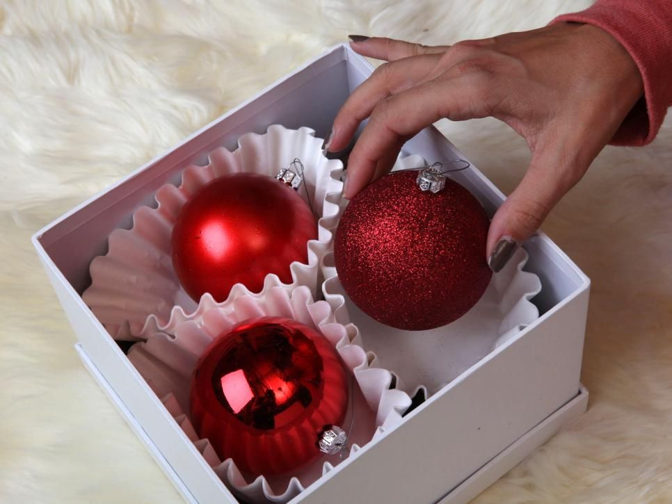 How to Store Christmas Decorations Decoration, Coffee filters - how to store christmas decorations