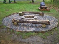 homemade rock fire pit | incoming search terms home made ...