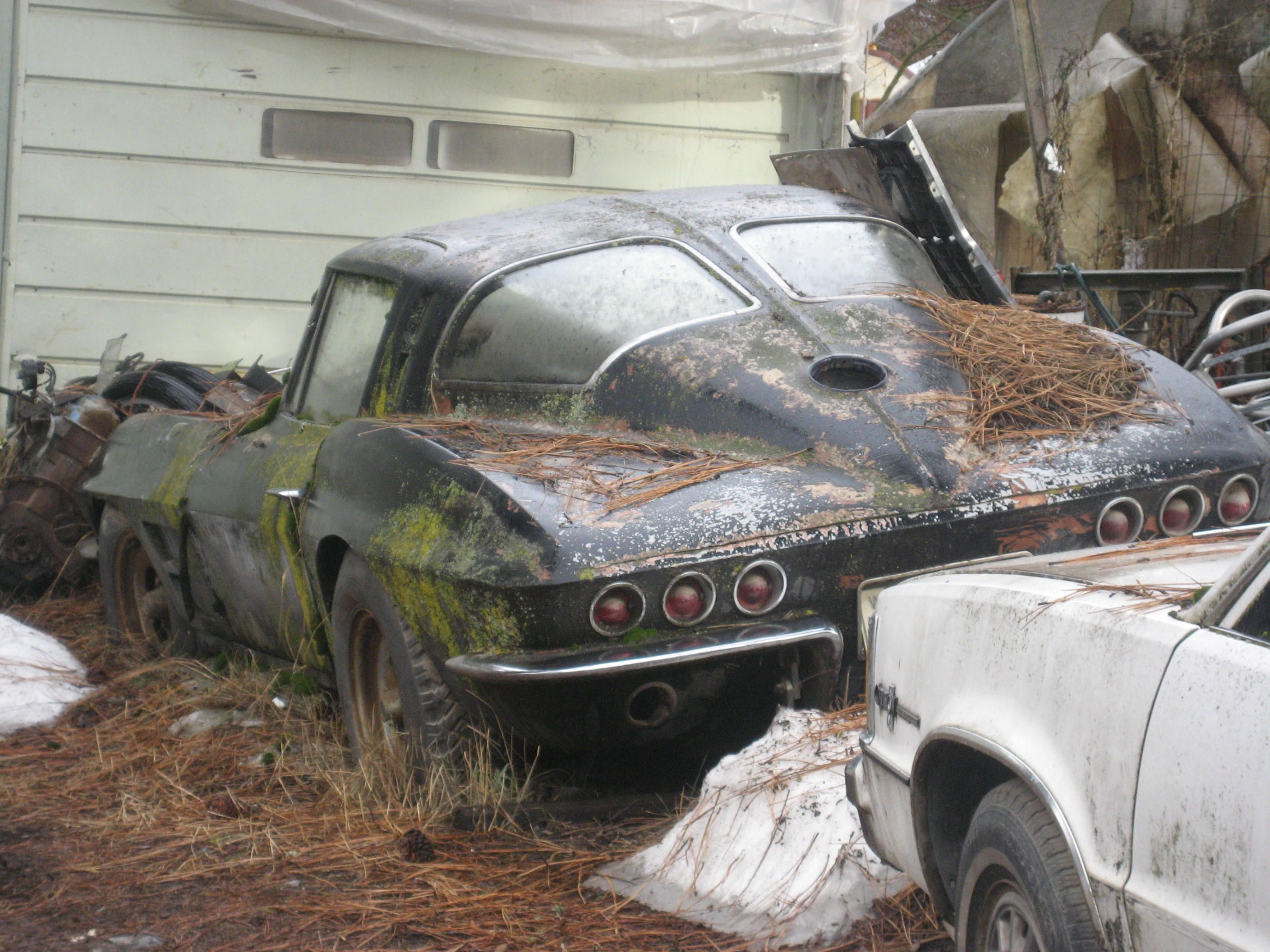 Turners Auto Salvage >> Barn finds and old lost junk yards ohio