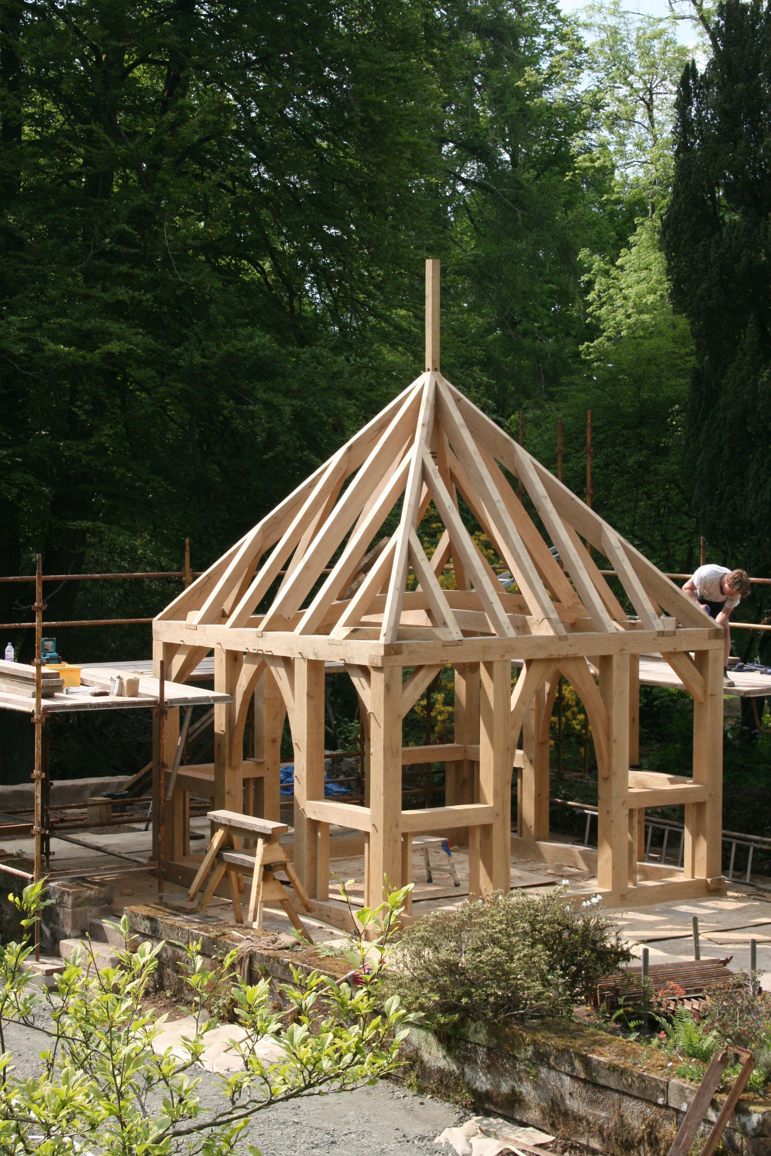 Holzverbindung Regal Post And Beam Construction Diy Outdoor Structures