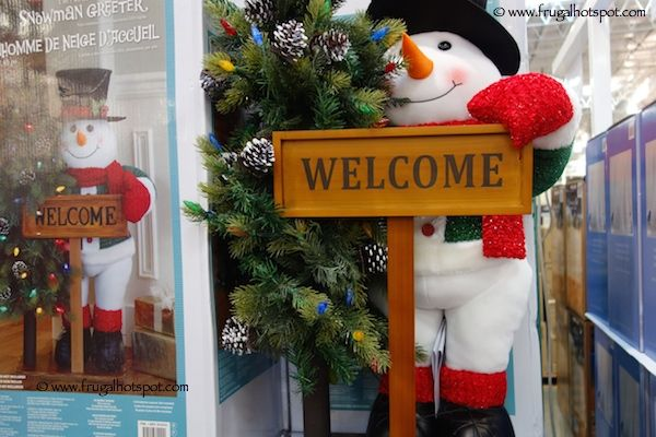 40u2033 Fabric Snowman Greeter #Costco #FrugalHotspot Christmas - costco christmas decorations