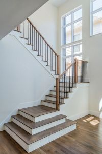 Image result for white modern rustic stairs | W::Stairs ...