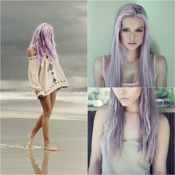 Lilac Hair Style Girls Styles Pinterest Blog Lilacs - Live Haarfarbe Lila