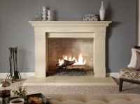 Delectable Stone Fireplace Surrounds Artistry Licious ...