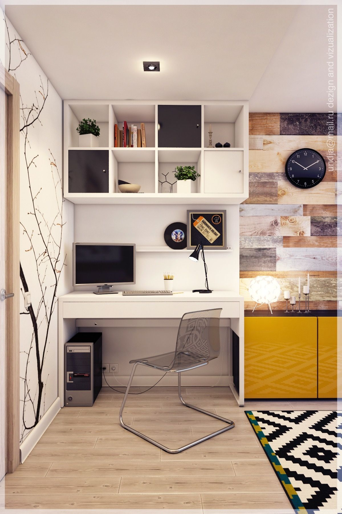 Contemporary study table designs your home deserves to have - Contemporary Study Table Designs Your Home Deserves To Have Home Designing Via Refresh Your Workspace Download