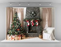 Amazon.com : Microfiber Material 7x5ft Christmas ...