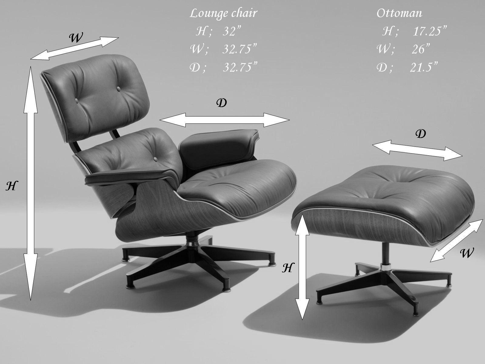 Lounge Chair Measurements Eames Lounge Chair Google 搜索 Eames Chair Pinterest