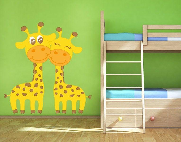 Wandsticker Verliebte Giraffen - wandsticker babyzimmer nice ideas