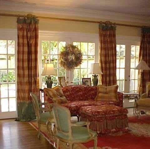 French Country Design and Decor Den Pinterest Country - country curtains for living room