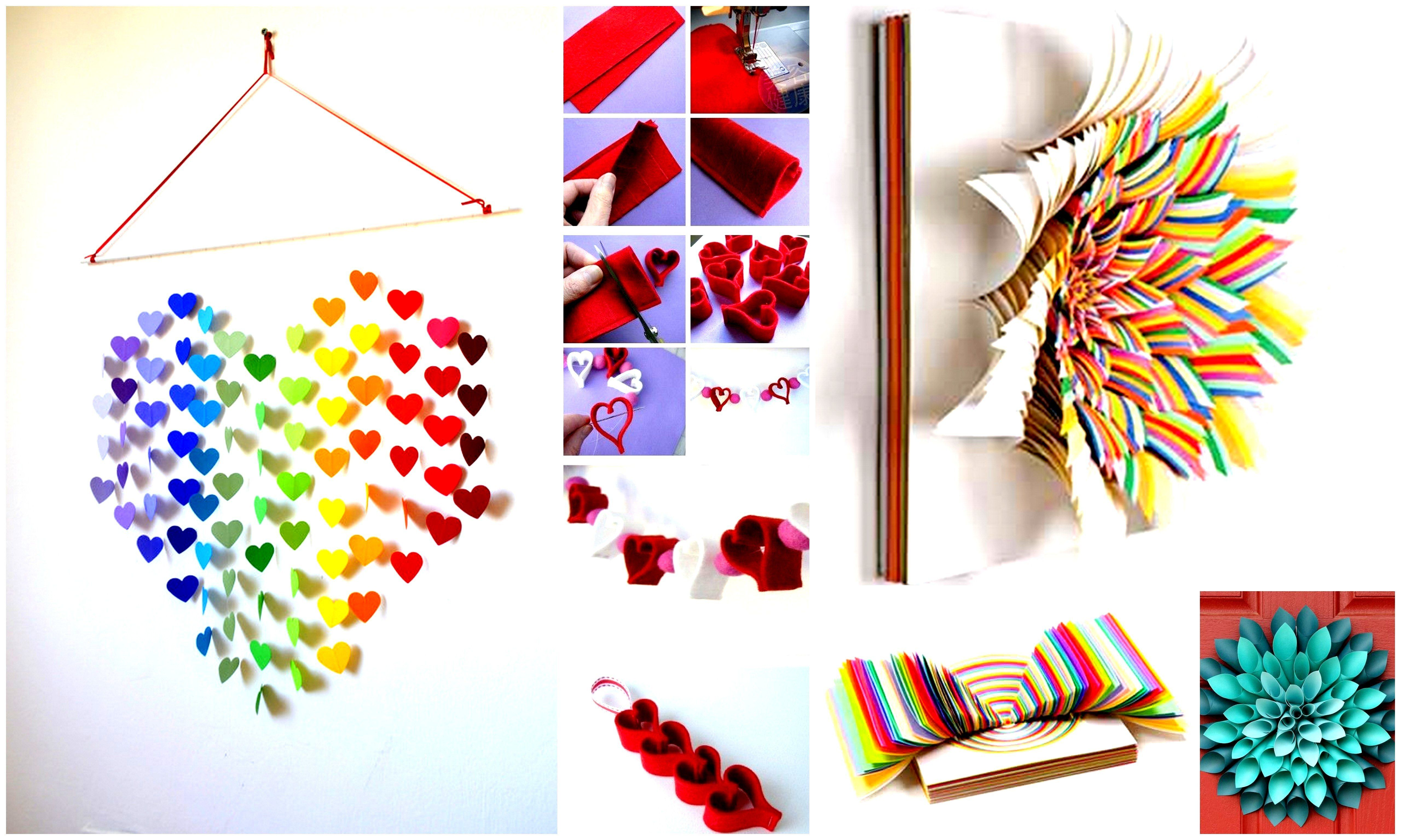 Diy Arts And Crafts 33 Creative 3d Wall Art Projects Meant To Beautify Your
