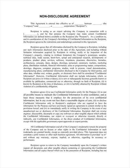 Data Confidentiality Agreement Data Confidentiality Agreement - data confidentiality agreement